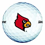 NCAA Louisville Cardinals Logo 2013 e6 Golf Balls (Pack of 12)