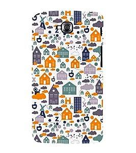 Home Ghar House Pattern 3D Hard Polycarbonate Designer Back Case Cover for LG GPro Lite :: LG G Pro Lite Dual D686