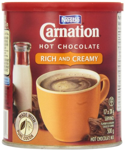 Carnation Hot Chocolate Rich, 500g Canister