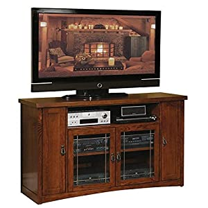 Kathy Ireland Home by Martin Mission Pasadena 60-1/2-Inch Full-Sized Tall Entertainment TV Console