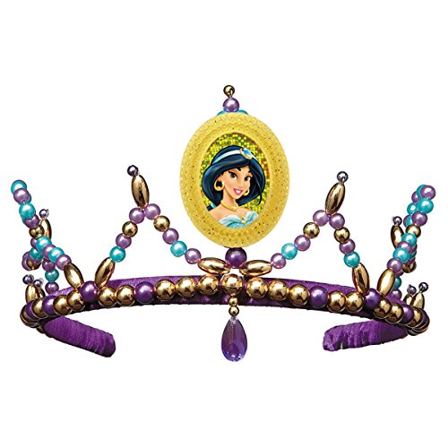 Disney Princess Jasmine of Aladdin Child Costume Tiara Gold Cameo