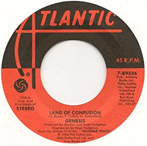 genesis land of confusion feeding the fire amazon. Black Bedroom Furniture Sets. Home Design Ideas