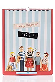Peg People 2014 Family Organiser[T21-3502A-S]