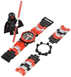 LEGO Kids' 9002953 Star Wars Darth Maul Watch With Minifigure