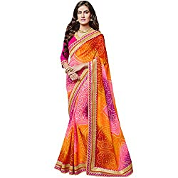 Vasu Saree Glorious Multi Colour Georgette Designer Saree
