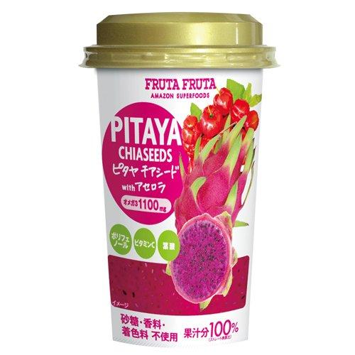 【ケース販売】 フルッタフルッタ ピタヤ チアシード 215g × 12本