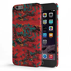 Koveru Designer Printed Protective Snap-On Durable Plastic Back Shell Case Cover for Apple iPhone 6 Plus/ iPhone 6S Plus - Paint Pattern
