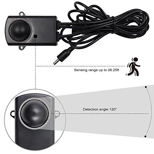 Motion Sensor LED Under Cabinet Lighting Kit: 4pcs