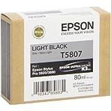Epson UltraChrome K3 Ink Cartridge - 80ml Light Black (T580700)