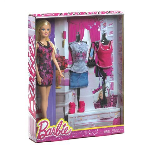 Home Locomotion Mattel Barbie Doll Fashion - 1