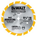 Dewalt Accessories 5-3/8 Frame Circular Saw Blade [DIY & Tools]