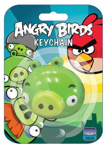 Angry Birds Keychain Green Pig - 1