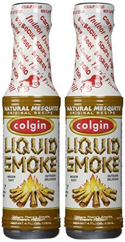 Colgin, All Natural Mesquite Liquid Smoke, 4oz Bottle (Pack of 2) (All Natural Liquid Smoke compare prices)
