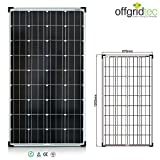 Offgridtec Solarmodul Tüv Zellen Monokristallin Solarpanel / zelle, 12 V, 130 W, 001250
