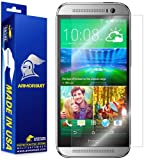 ArmorSuit MilitaryShield - HTC One M8 Screen Protector Anti-Bubble Ultra HD - Extreme Clarity & Touch Responsive Shield with Lifetime Free Replacements - Retail Packaging (For: Verizon, T-Mobile, Sprint, AT&T)