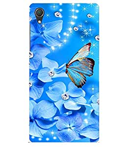 Doyen Creations Designer Printed High Qulaity Premium case Back Cover For Sony Xperia M5