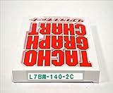 小芝記録紙 ( KOSHIBA ) チャート紙 【7日用】 140Km/h(赤ライン) 10組入リ KL-7-140-2C
