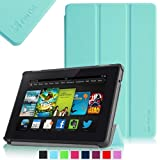 "Fintie Amazon All New Kindle Fire HD 7"" SmartShell Case Cover Ultra Slim Lightweight with Auto Sleep / Wake Feature - Blue (will only fit All New Kindle Fire HD 7 2nd Generation 2013 Model)"