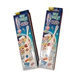 Spinbrush Toothbrush for Kids/Children - Multipack Of 2 Pack, Include 141 Decorate Your Brush My Way Stickers - Arm & Hammer