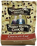 Newman's Own Organics Family Recipe Cookies, Chocolate Chip, 7 Ounce Bags (Pack of 6)
