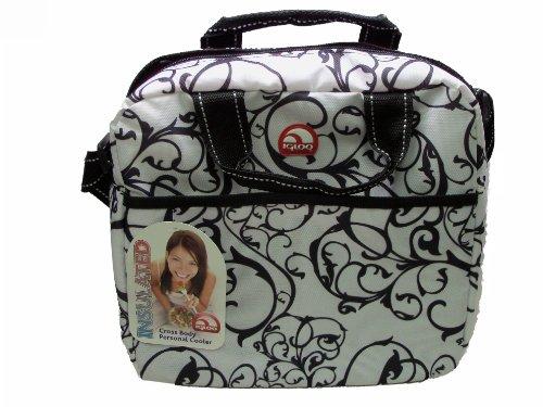 Igloo Cross Body Insulated, Flexible Cooler Bag (Vine Print) front-250142