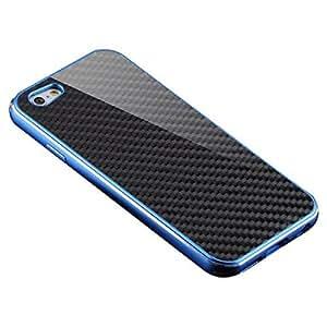 Tonsee Luxury CNC Full Aluminum Metal Design Case Cover Skin for iPhone 6 Plus (Blue)