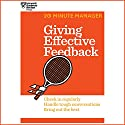 Giving Effective Feedback (       UNABRIDGED) by  Harvard Business Review Narrated by James Edward Thomas