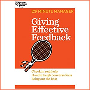 Giving Effective Feedback Audiobook
