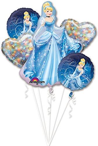 Anagram International Cinderella Bouquet, Multicolor
