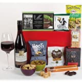 Thank You Gift of Wine, Nibbles and Sweet Treats. Includes Next Working Day Delivery