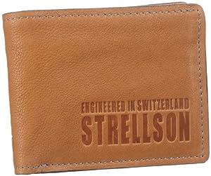 Strellson London Bridge Billfold H7 4010000045 Herren Geldbörsen 13x10x1 cm (B x H x T), Braun (cognac 703)