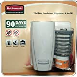 Rubbermaid Commercial Products TCell Air Freshener Dispenser & Refill