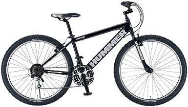 HUMMER(ハマー) ATB650B ブラック 27.5インチ(650B) シマノ18段変速ギア搭載 マウンテンバイク 13100-0199 AMZ