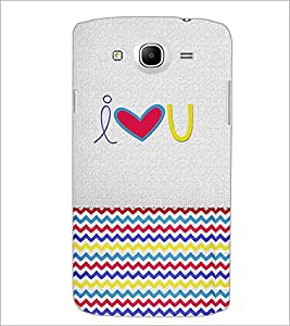 PrintDhaba quote D-4850 Back Case Cover for SAMSUNG GALAXY MEGA 5.8 (Multi-Coloured)