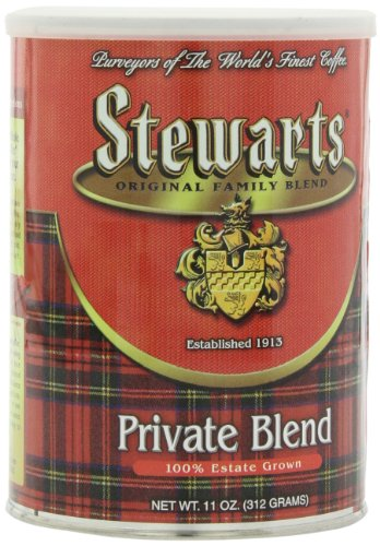 Stewart'S Coffee Private Blend, 11-Ounce (Pack Of 3) front-64535