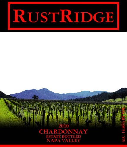 2010 Rustridge Chardonnay, Napa Valley 750 Ml