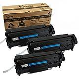 V4INK 3-Pack Q2612A Toner Cartridge