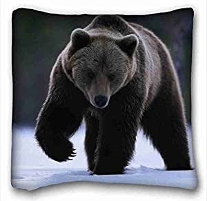 Amazon.com - Custom ( Animals snow bear view paw ) Zippered Body Pillow Case Cover Size 16