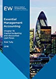 img - for Essential Management Accounting - Chapter 15: Capital budgeting and discounted cash flows - 2016-17 book / textbook / text book