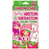 Bendon Publishing 204350 Strawberry Shortcake Addition and Subtraction Learning Cards