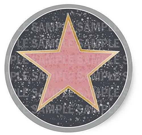 Hollywood Walk Of Fame Cake Topper