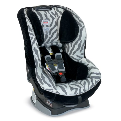 Britax Boulevard 70 Convertible Car Seat, Zebra