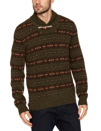 Dockers Fairisle Vest Men's Jumper Rialto - Coulter Pine Medium