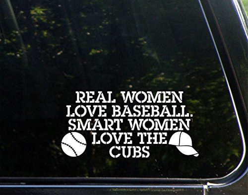 real-women-love-baseball-smart-women-love-the-cubs-7-1-2-x-4-vinyl-die-cut-decal-bumper-sticker-for-