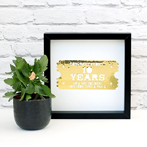 Personalized Golden Celebration Ticket (Brighton Ticket compare prices)