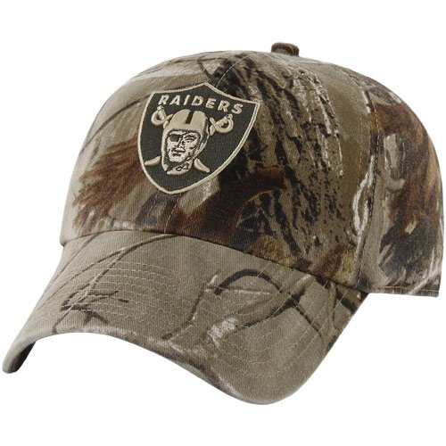 NFL '47 Brand Oakland Raiders Franchise Fitted Hat - Realtree Camo (Large) at Amazon.com