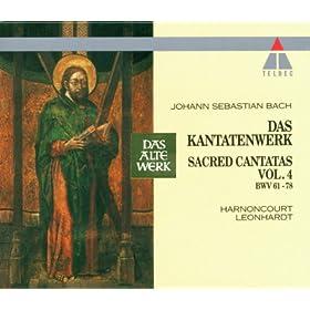 """Cantata No.71 Gott ist mein K�nig BWV71 : II Aria - """"Ich bin nun achtzig Jahr - Soll ich auf dieser Welt"""" [Boy Soprano, Tenor]"""