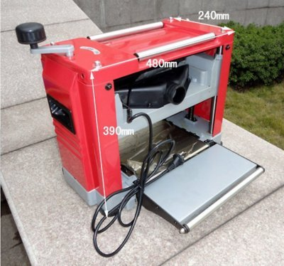 GOWE 800W Powerful Thicknesser Planer/8000 rpm Planer