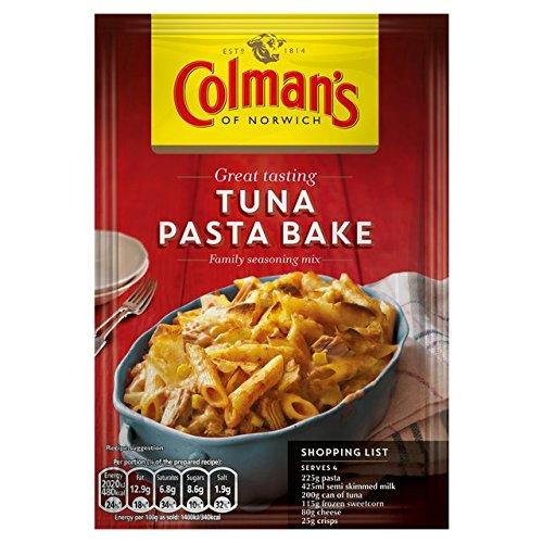 Pâtes au thon Recette Cuire Mix de 44g de Colman