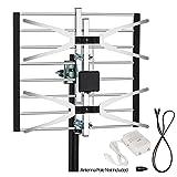 ViewTV VT-0958A Digital Amplified Outdoor / Indoor Attic HDTV Antenna - 120 Miles Range